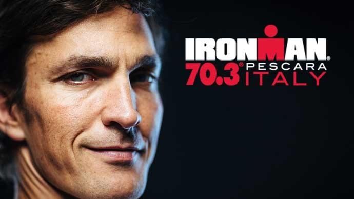 Daniel Fontana ad Ironman 70.3 Italy Pescara